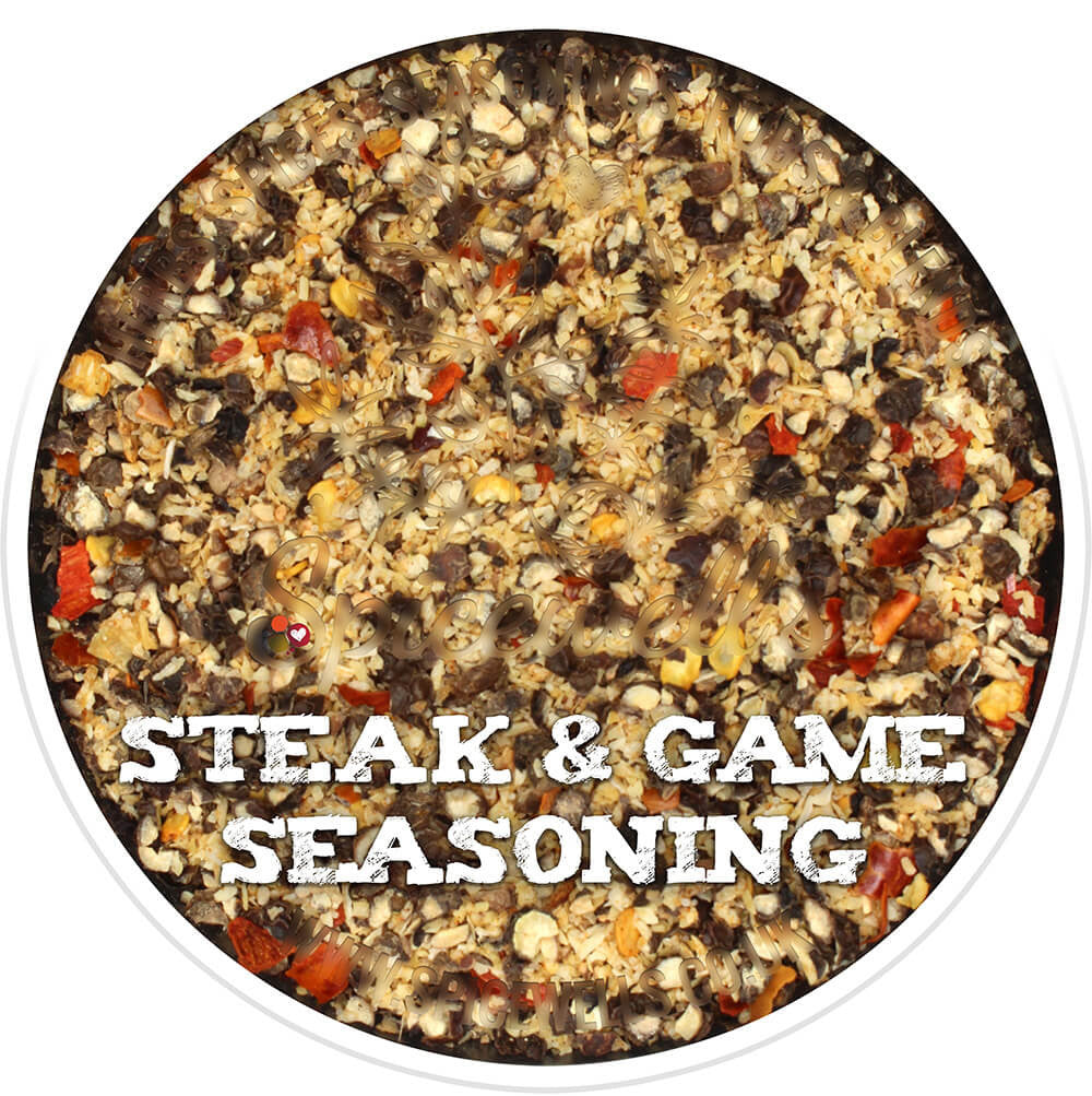 Steak & Game Seasoning, Seasoning from Spicewells, UK