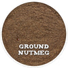 Nutmeg, Ground, Ground Spice from Spicewells, UK