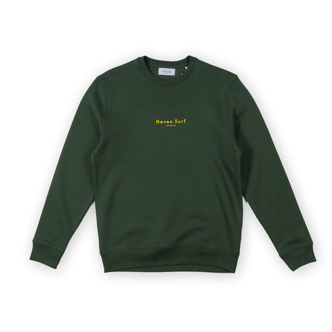 H A V E И - Haven Surf Antwerp Sweat - Green