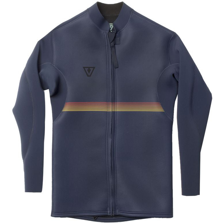 Vibes Front zip Jacket 2mm - Navy