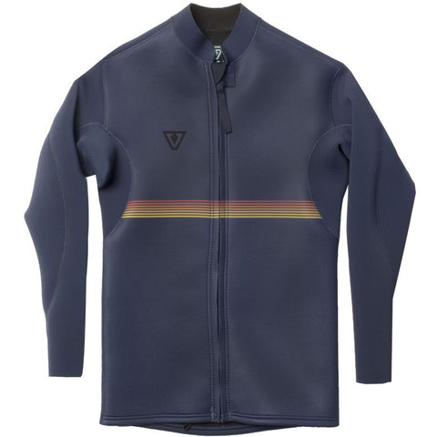 Vissla - Vibes Front zip Jacket 2mm - Navy