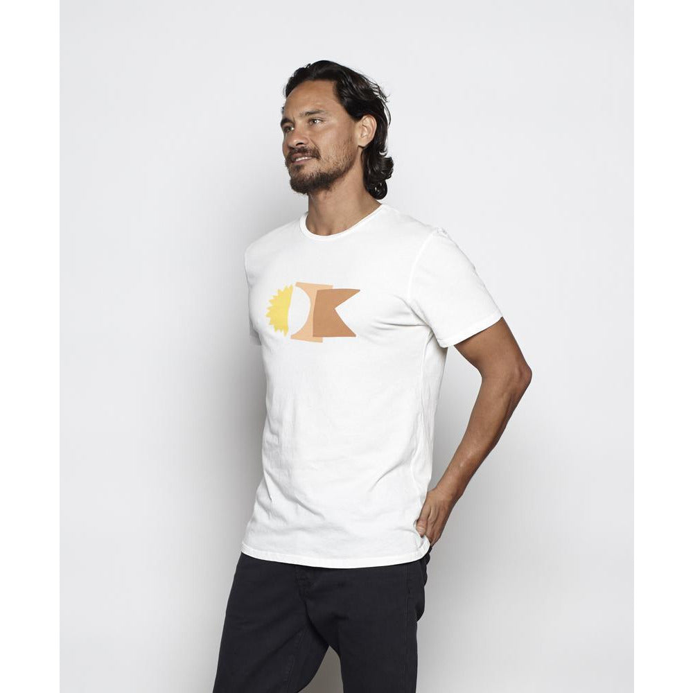 Outerknown - OK College Tee - Salt