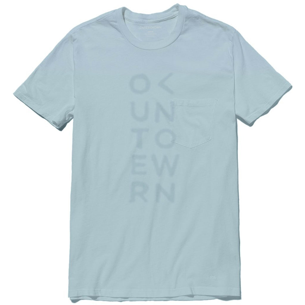 Outerknown - Big Bang Pocket Tee - Winter Sky