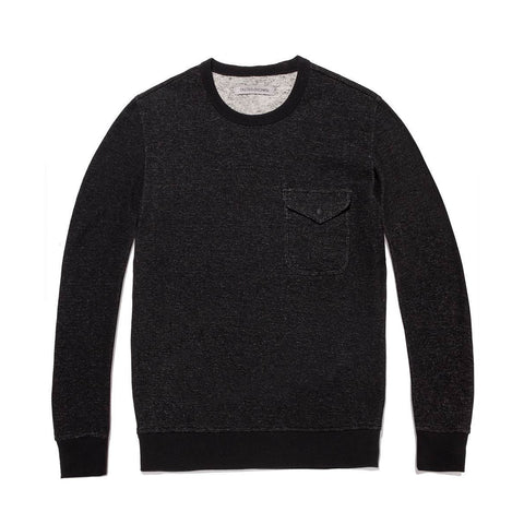 Outerknown - Pavement Sweatshirt - Pitch Black