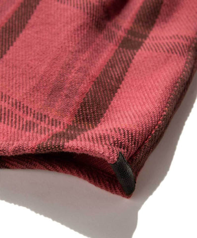 Outerknown - Blanket Shirt - Dusty Red Cusco Plaid