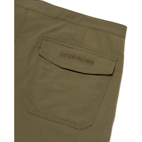 Outerknown - Evolution Pocket Scallop Trunk - Spruce