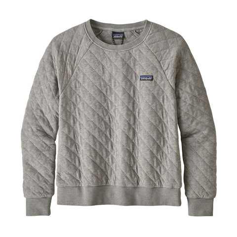 Patagonia - Women's Organic Cotton Quilt Crew - Drifter Grey