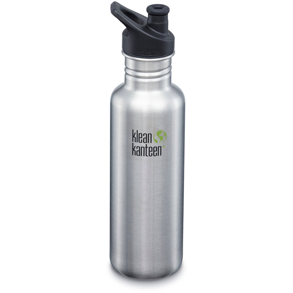 Klean Kanteen - Classic 27oz with Sport Cap 3.0 (800ml) - Stainless steel