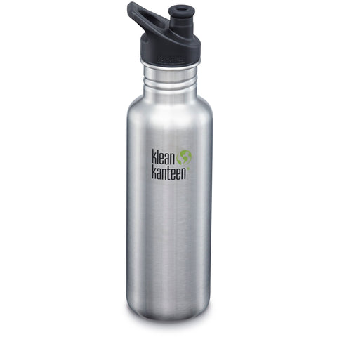 Klean Kanteen - 27oz Classic with Sport Cap - Stainless steel