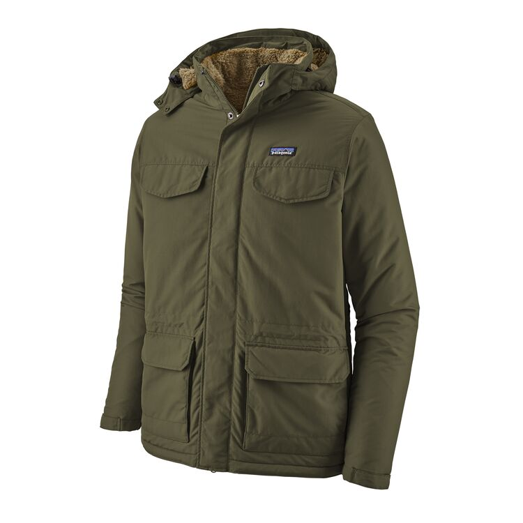 Patagonia - M's Isthmus Parka - Industrial Green