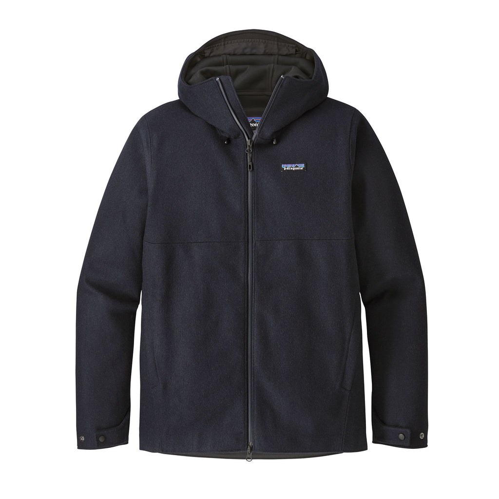 Patagonia - Recycled Wool Jacket - Navy