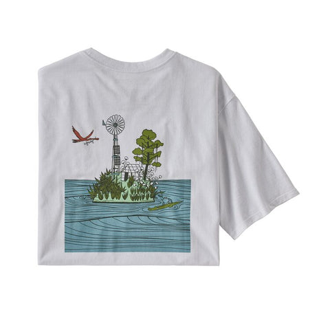 Patagonia - M's Save Our Seeds Responsibili-Tee - White