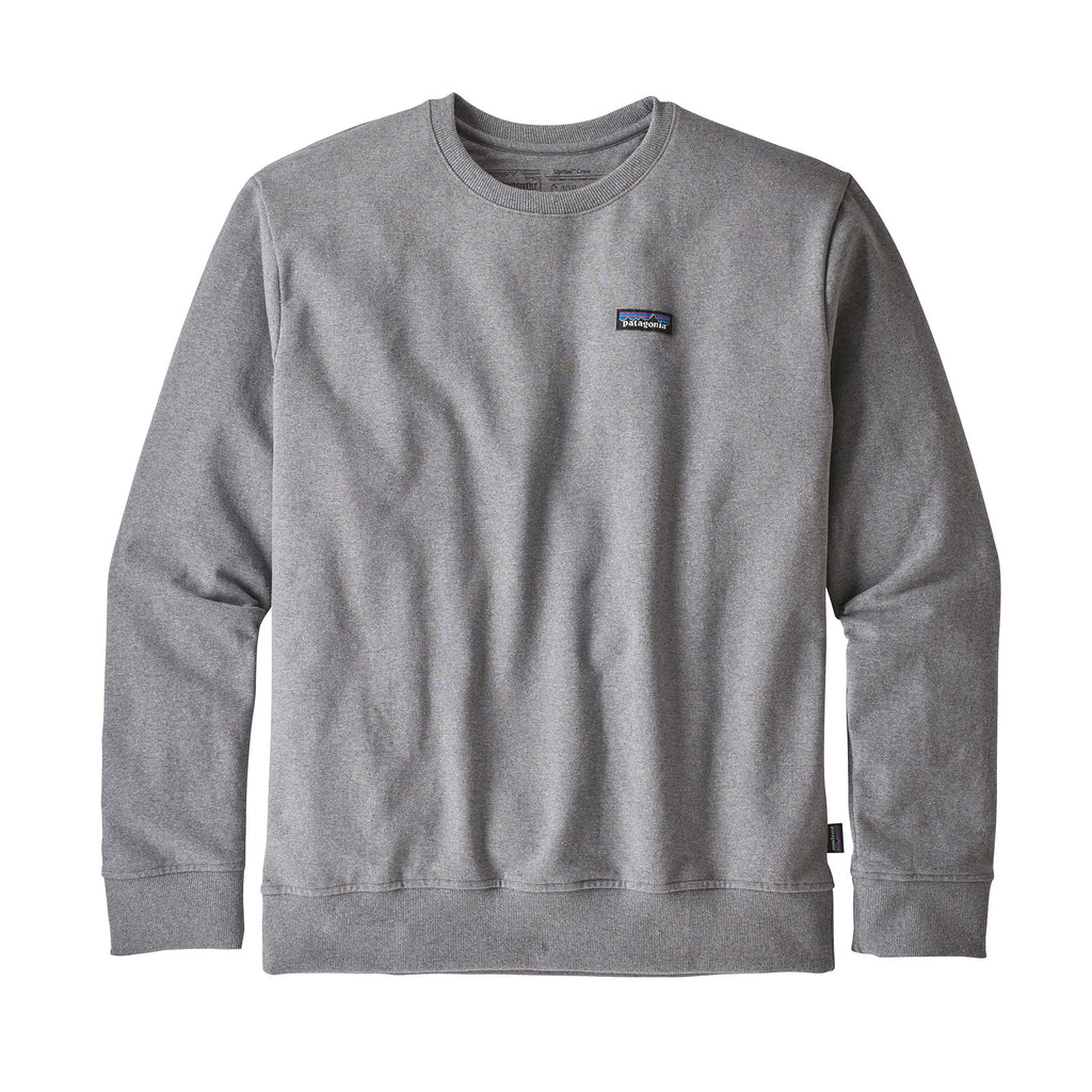 Patagonia - M's P-6 Label Uprisal Crew Sweatshirt  - Gravel Heather