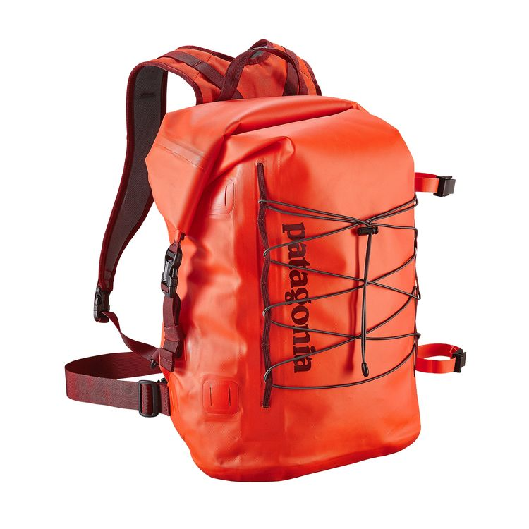 Patagonia - Stormfront Roll Top Pack 45L - Cusco Orange