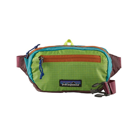 Patagonia - Ultralight Black Hole Mini hip pack (1L) - Patchwork Peppergrass Green