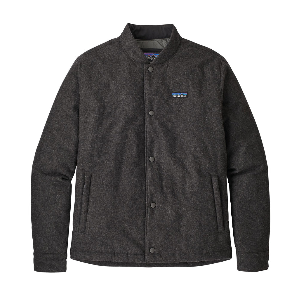Patagonia - Recycled Wool Bomber Jacket - Forge Grey