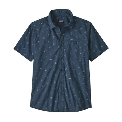 Patagonia - M's Go To Shirt - Surfers: Stone Blue