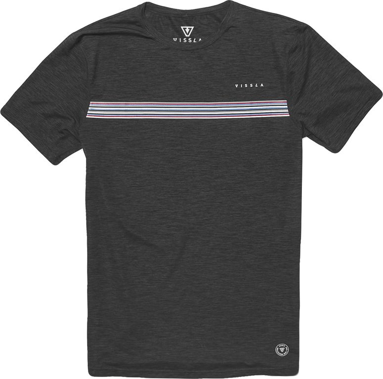 Dredgers SS Surf Tee - Phantom Heather