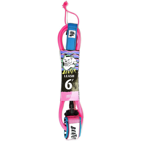 Beater 6ft Leash - Pink