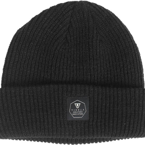 Jetty Beanie - Black Heather