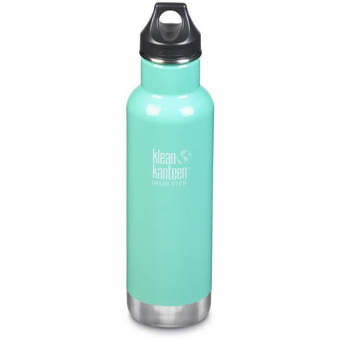 Klean Kanteen - 20oz Classic Insulated /Loop Cap 592ml - Sea Crest