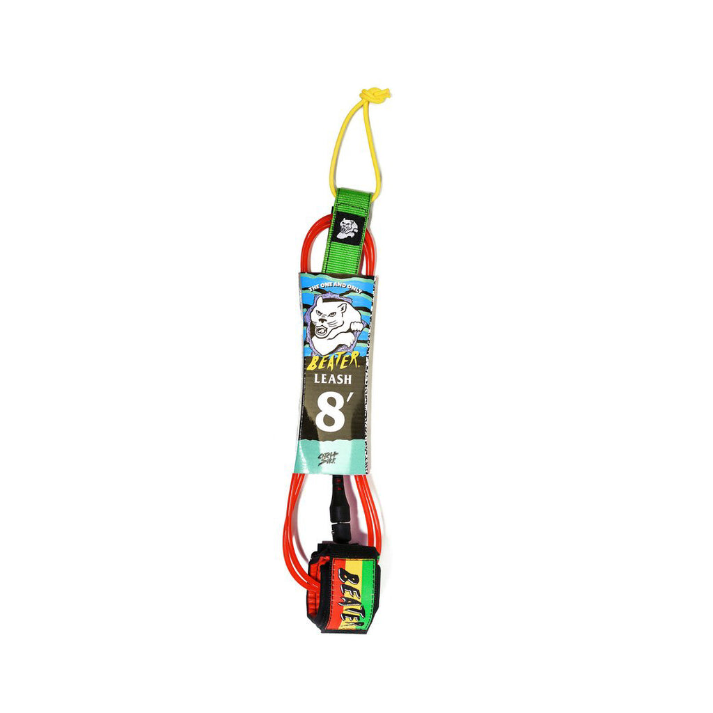 Beater 8 ft Leash - Rasta