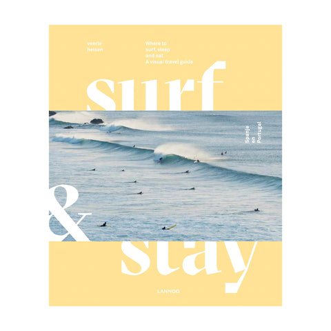 Lannoo - Surf & Stay - A visual travel guide - English Copy