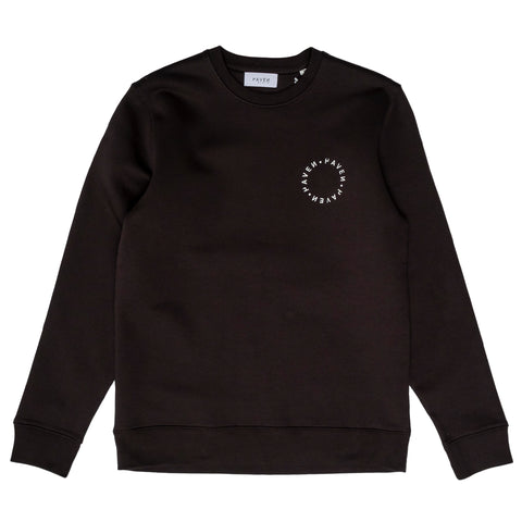 H A V E И - Antwerp Surf Club Sweat - Black