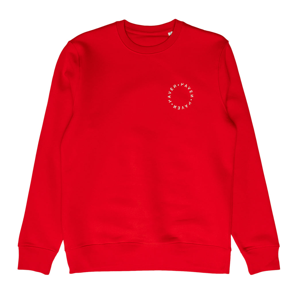 H A V E И - Antwerp Surf Club Sweat - Red