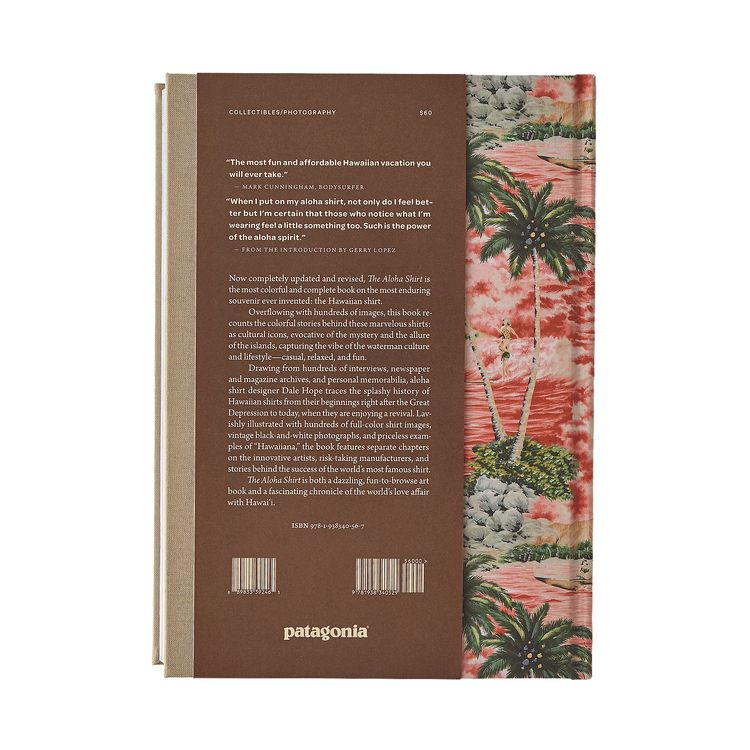 Patagonia Books - The Aloha Shirt: Spirit Of The Islands (Hardcover Book)