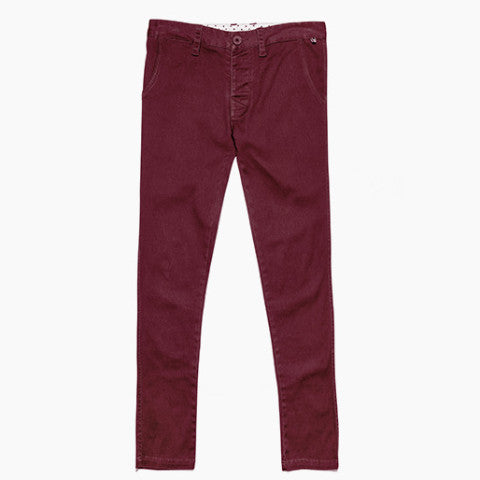 Mr Perfect Pant - Ox Blood