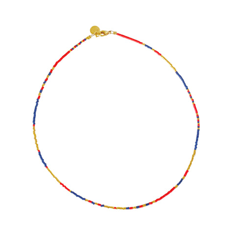 Les Petits Surfeurs - Blue Anchor Point - gold/blue/red