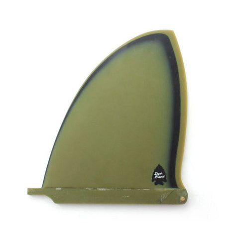 Captain Fin - Single Fin, Dyer Brand 9.75""