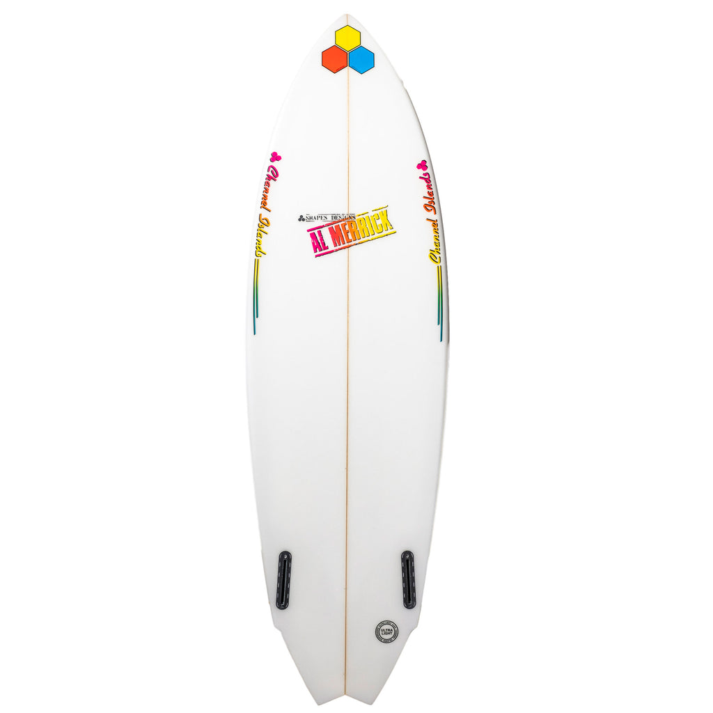 Channel Islands - Twin Fin  5'11 - White (Futures)