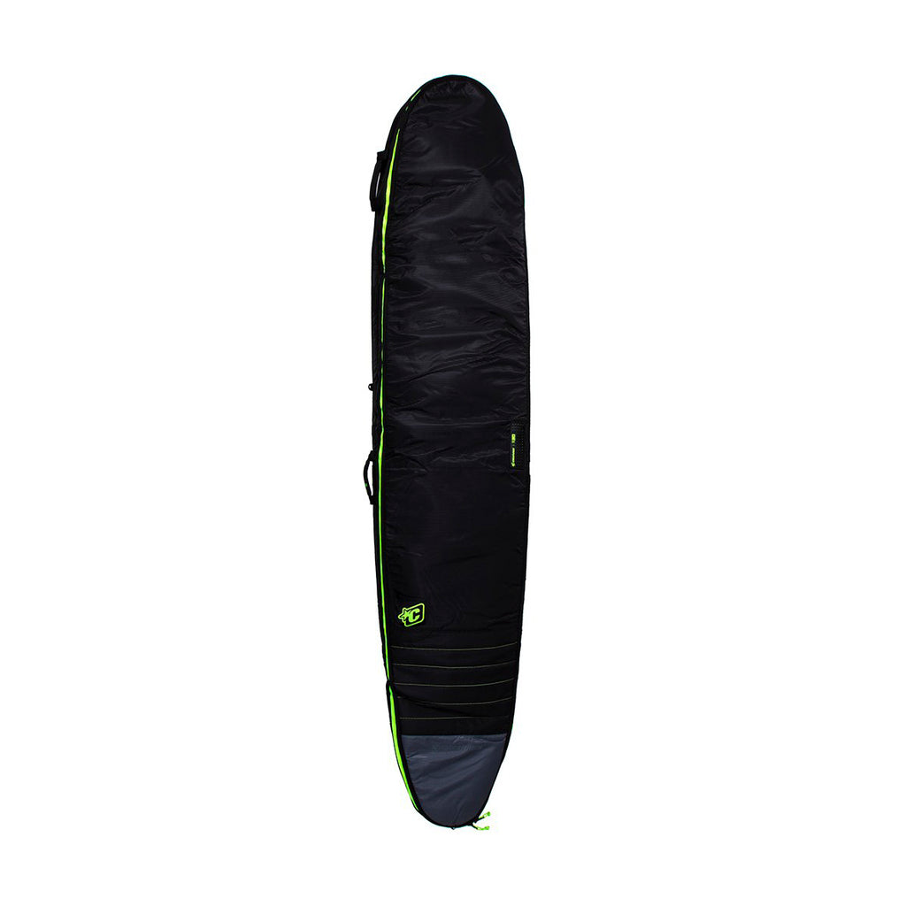 8'0 Longboard Double - Charcoal/Lime