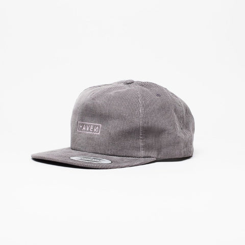 Mini Logo Cap - Grey Corduroy