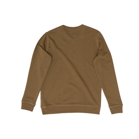 H A V E И - NorthSea Sweat - Khaki with White Embroidery