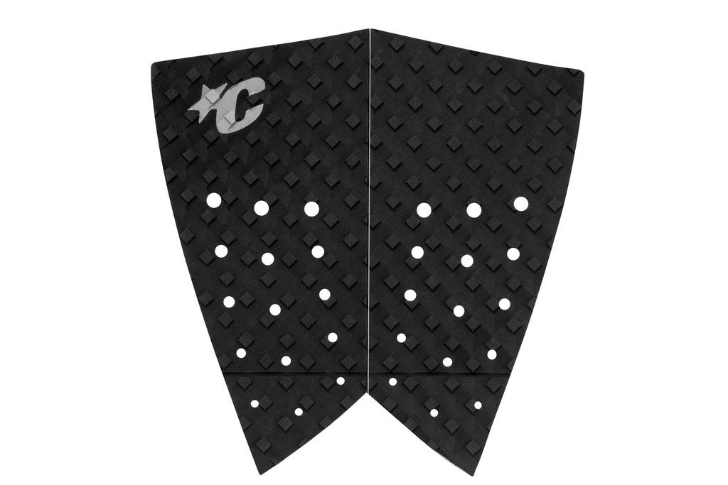 Retro Black Grey Tailpad