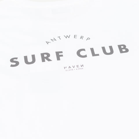 Antwerp Surf Club Tee - White