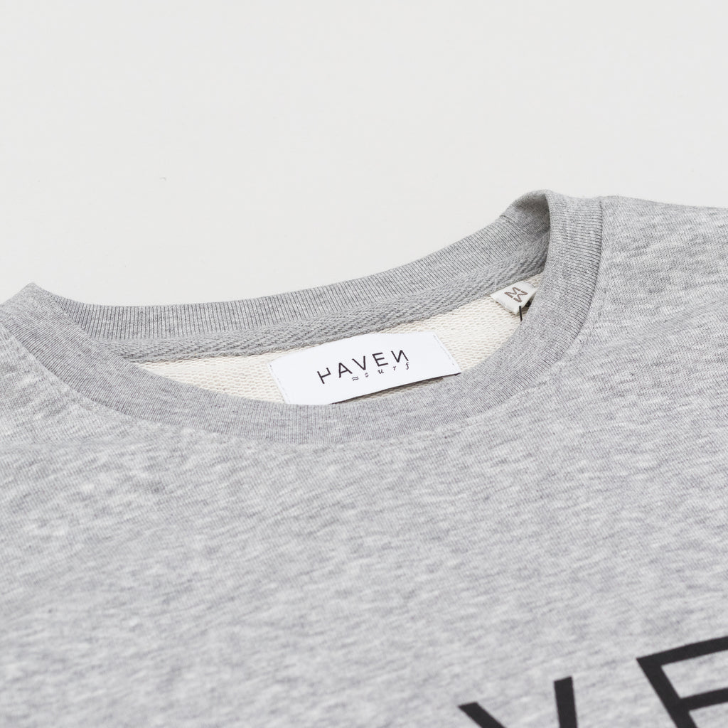 Boiler Sweat #1  - Heather Grey w/Black print
