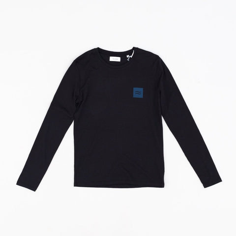 La Source LS Tee - Black with Blue Logo