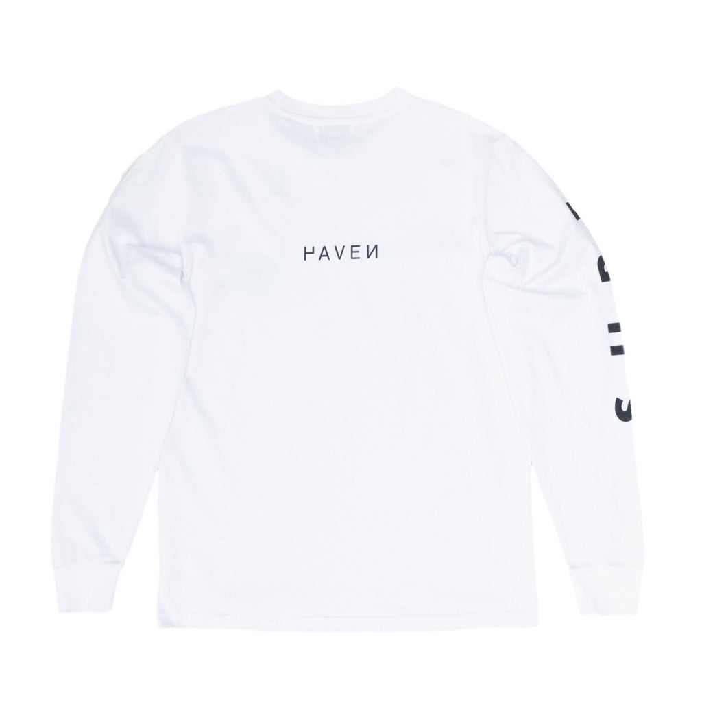 Haven Surf - 'Surf Everything' L/S Tee - White/Black