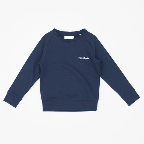 Keep Surfing Fun Sweat (kids) - Navy/White