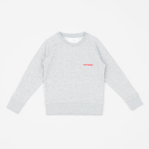 Keep Surfing Fun Sweat (kids) - Grey/Red