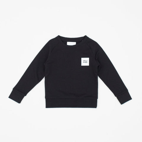 La Source Sweat (kids) - Black/White