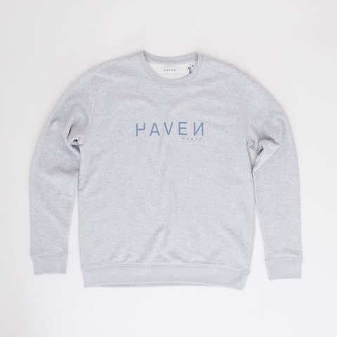 H A V E И - Boiler Sweat #2 (unisex)  - Heather Grey