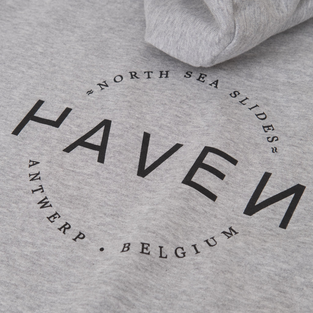 H A V E И - North Sea Slides Hoodie (unisex) - Heather Grey