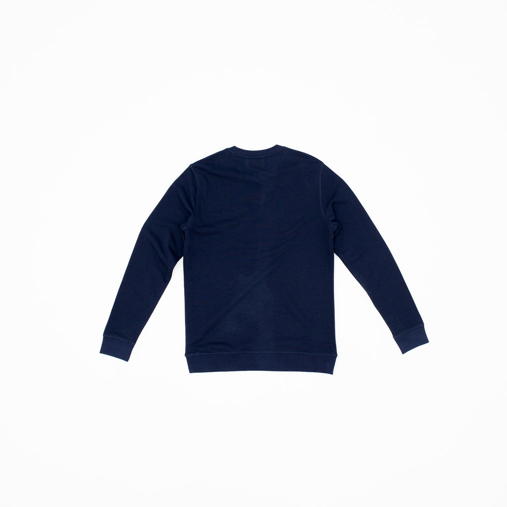 Gold Waves Sweat - Navy