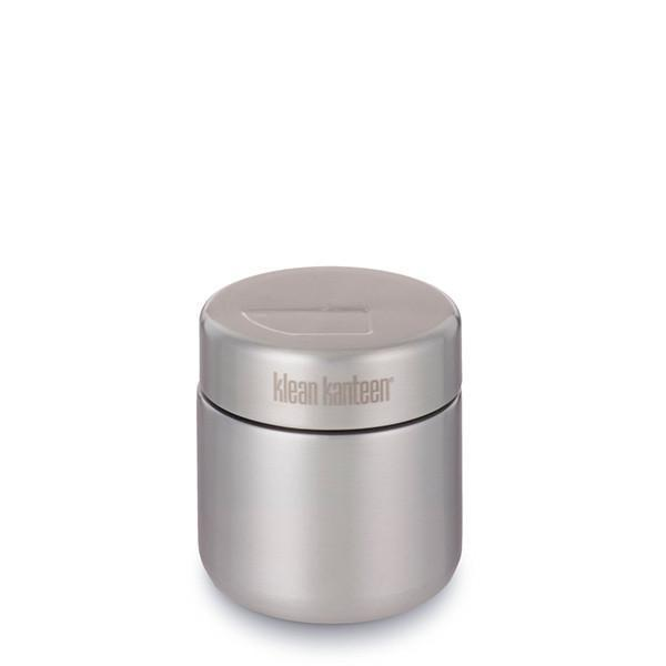 Klean Kanteen - 8oz Food Canister (w/Stainless Lid) - Brushed Stainless