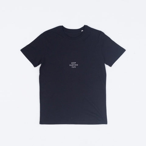 Keep Surfing Fun Tee - Black